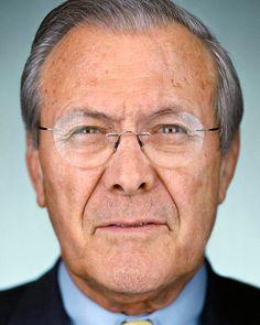 Donald Rumsfeld, 2005  Martin Schoeller   2005