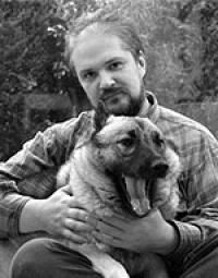 Mexican writer in the quest for illumination needs always a great companion: Carlos Castaneda and his canine soul mate.