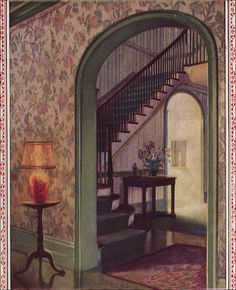1926 Color Scheme - Green + Floral by American Vintage Home, via Flickr
