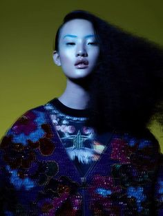 Han Bing by JMN for Numéro China #33 October 2013