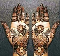 Mehndi henna designs are always searchable by Pakistani women and girls. Women, girls and also kids apply henna on their hands, feet and also on neck to look more gorgeous and traditional. Mehndi Designs Book, Modern Mehndi Designs, Mehndi Design Pictures, Mehndi Designs For Girls, Wedding Mehndi Designs, Henna Designs Easy, Dulhan Mehndi Designs, Mehndi Images, Legs Mehndi Design