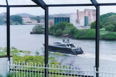 Across the river to the Brisbane Powerhouse, from my office