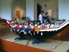 Galley Coffin by Paa Joe of Ghana.  Perhaps for fishermen on their final voyage