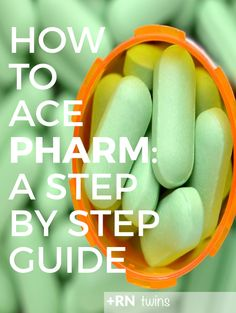 Are you freaking out about your pharm class? Don't worry, we've got you covered! Click through to discover our best study tips that will help you pass pharm with flying colors. SPOILER: They DON'T involve making flashcards!