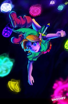 (Majora's Mask) Down the rabbit hole he goes...