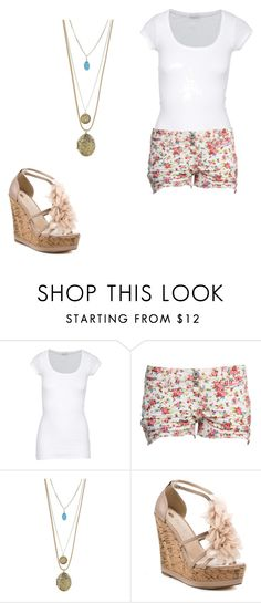"""Sem título"" by joanapereira160 ❤ liked on Polyvore featuring American Vintage, Miss Selfridge and 2 Lips Too"
