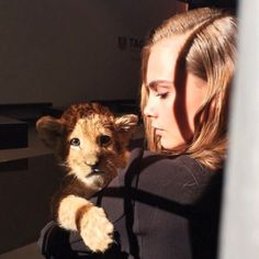 cara delevingne, model, and lion image Cara Delevingne, Cute Creatures, Beautiful Creatures, Animals Beautiful, Cute Baby Animals, Animals And Pets, Fur Babies, Real Life, Photos