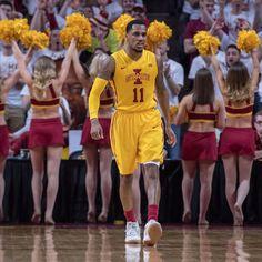 Basketball Equipment, Adidas Basketball Shoes, Iowa State Basketball, Michigan, Iowa State Cyclones, Morris, Cheer Skirts, Instagram, Sports