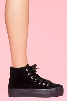 Walk a mile in new high heels, sandals, flats, ankle booties or whatever takes your fancy. Shop all women's shoes at Nasty Gal. Suede Sneakers, Platform Sneakers, High Top Sneakers, High Heels, Sock Shoes, Ugg Shoes, Uggs For Cheap, Crazy Shoes, Nasty Gal