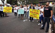 Ato pela morte de Policiais na Baixada