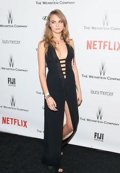 Cara Delevingne at the Netflix Golden Globes After Party. See all of the model's best looks.