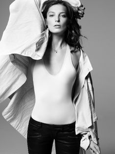 Name: Daria Werbowy Nationality: Ukrainian Canadian Birth Date: November 1983 Agencies: IMG Models Height: Daria Werbowy, Vanity Fair, Gq, Crystal Renn, Vogue, Glamour, Black And White Pictures, Female Models, Top Models