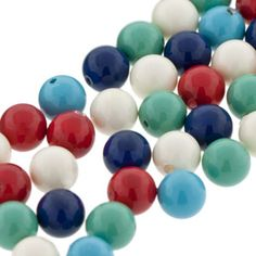5mm Swarovski Elements Gem Color Crystal Pearl Mix - Siren | Fusion Beads