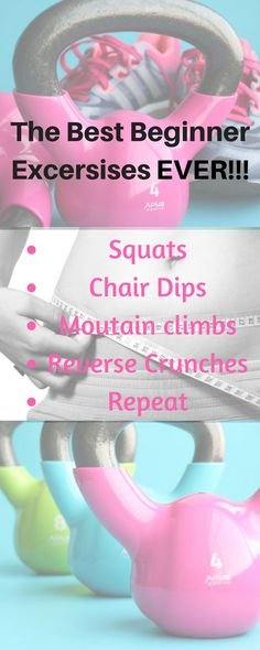 the best and most easy workout and exercise routine for beginners to do in home. Great fort sahm, wahm, working women, and ideal for plus size women. Beginner Workout At Home, Workout For Beginners, Beginner Exercise, Men Exercise, Exercise Routines, Exercise Equipment, Easy Workouts, At Home Workouts, Plus Size Tips