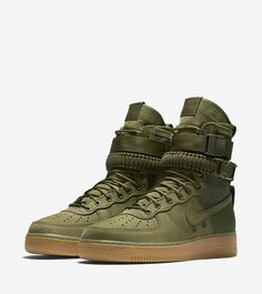 "NIKE > Special Field Air Force One ""Urban Untility"", Olive Green"