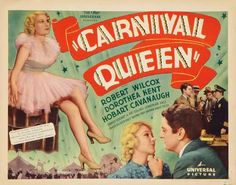 vintage carnival poster - Google Search Carnival Posters, Circus Poster, Queen Movie, Picture Movie, Vintage Carnival, Universal Pictures, Sideshow, Childhood, Google Search