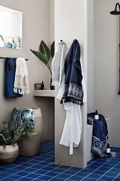Джутовая корзина для белья - Натуральный белый - HOME | H&M RU 1
