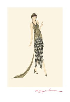 Ok, these are AMAZING!!! Costume design by Madame Majeska for Gloria Swanson @drmworksonpaper