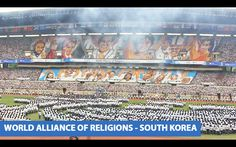 Card- Section performance at the World Alliance of Religions - Peace Sum...