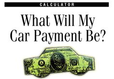Calculate Car Payment With Simple Formula Calculate Car Payment With Monthly