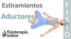 Estiramiento y elongación de los músculos aductores