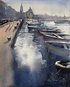 Procida, Italy IV by Keiko Tanabe