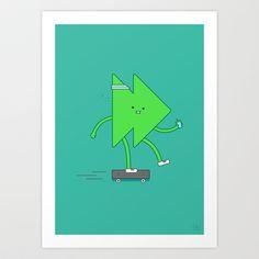 Live Fast Art Print by Jaco Haasbroek - $20.00
