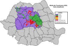 Transylvania ethnic map 1850 [1515 × 1022] - Imgur