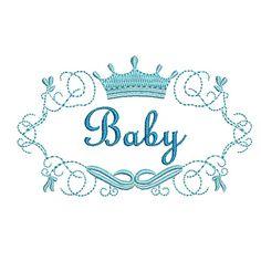 MOLDURA BABY 8 CM