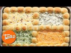 4 Way Dough Ball Dip Sheet Tray - YouTube