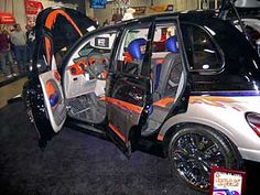 pictures of custom pt cruiser sound systems - Google Search