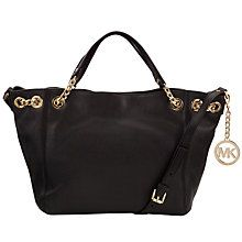 Buy MICHAEL Michael Kors Jet Set Chain Medium Leather Shoulder Bag Online at johnlewis.com