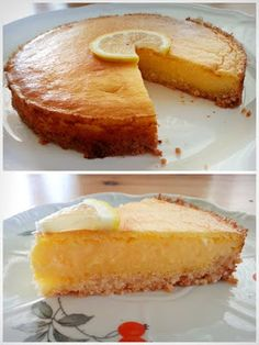 Simple lemon pie (paleo) ~ Fleshless Slimness with Safari - Diet Desserts, Paleo Dessert, Healthy Desserts, Dessert Recipes, Sin Gluten, Paleo Desert Recipes, Paleo Vegan Diet, Salty Snacks, Hungarian Recipes