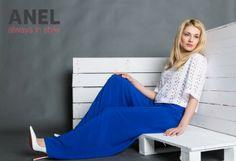 Σικάτη μπλε παντελόνα από την ANEL.