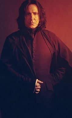Alan Rickman as Snape 'Harry Potter
