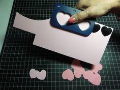 Tutorial #12 3-D Heart Flowers - Let's Scrap