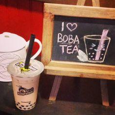 I do  boba tea! This one is coconut milk boba tea. YUM! by flsunsugar