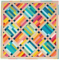 Belle Prairie quilt pattern by Kristin Lawson | Fons & Porter