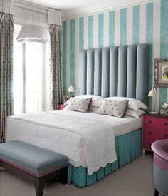 Tiffany blue stripes