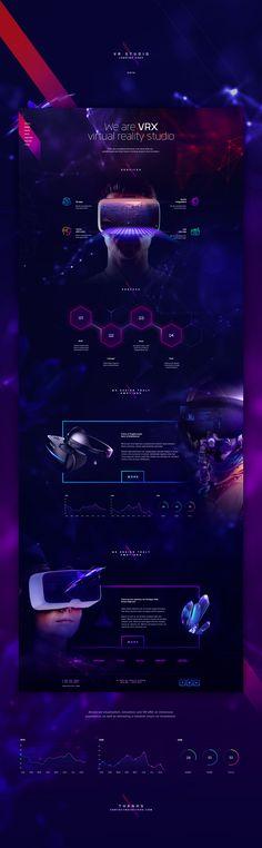 Ознакомьтесь с этим проектом @Behance: «VRX Studio» https://www.behance.net/gallery/51898549/VRX-Studio