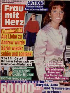"""Sarah, Duchess of York """"Frau mit Herz"""" (Nr.27 vom 30.6.1994)"""