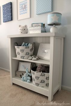 Simply Beautiful by Angela: Cheap Bookcase Makeover Bookcase Redo, Cheap Bookshelves, Bookshelf Makeover, Small Bookshelf, Build Shelves, White Bookshelves, Bookcases, Laminate Furniture, Furniture Ads