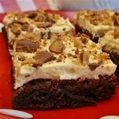 Irish Cream Brownies Allrecipes.com
