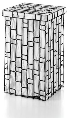 53309.50 #SESTI - Lineabeta iron handmade laundry box