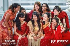 """The bride and her bridesmaids are always the best looking people in a wedding. This group of beautiful women charmed and amazed everyone at the event. I was very much obliged to take this picture."" – Mogan of VF Photo"