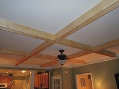 coffered ceilings | coffered ceiling with wall unit | review