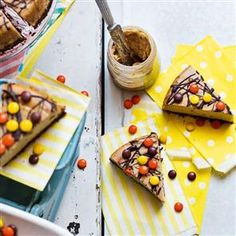 Reese's Pieces peanut butter cheesecake Recipe | delicious. Magazine free recipes