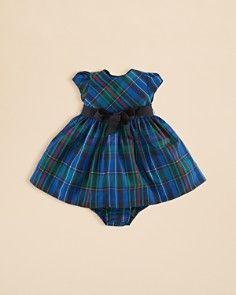 Ralph Lauren Infant Girls' Plaid Fit & Flare Dress