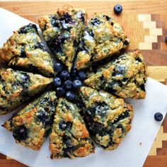 Whole Wheat Blueberry Scones // Another Root