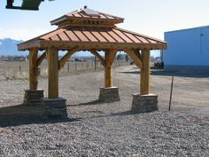 Log Rectangle Gazebo
